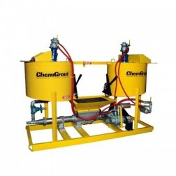 ChemGrout CG-500-2C6/A Versatile Air Powered Grouter w/2- Mixers
