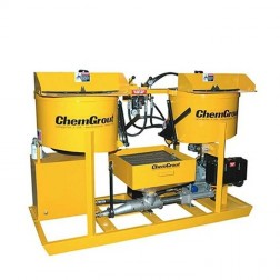 ChemGrout CG-502-031/GHES Multi-Purpose Gas/Hydraulic Grouter w/2- Mixers