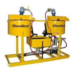 ChemGrout CG-502-031/H Multi-Purpose Hydraulic Grouter w/2- Mixers