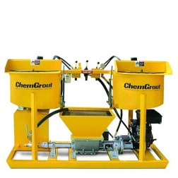 ChemGrout CG-502-2C4/GHES Workhorse Gas/Hydraulic Grouter w/2- Mixers