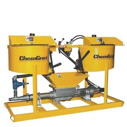 ChemGrout CG-502-2C4/H Workhorse Hydraulic Grouter w/2- Mixers