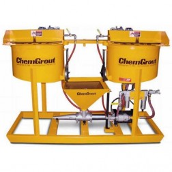 ChemGrout CG-502-2C4/A Workhorse Air-Powered Grouter w/2- Mixers