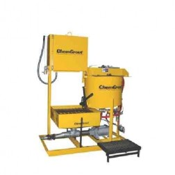 ChemGrout CG-550-031/H Geotech Hydraulic Grouter w/Mixer