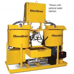 ChemGrout CG-550-031/DHES Geotech Diesel/Hydraulic Grouter w/Mixer