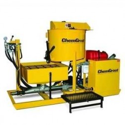 ChemGrout CG-550-031/GHES Geotech Gas/Hydraulic Grouter w/Mixer