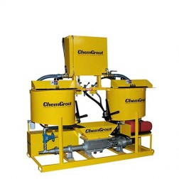 ChemGrout CG-500-2C6/GHES Versatile Gas/Hydraulic Grouter w/2- Mixers