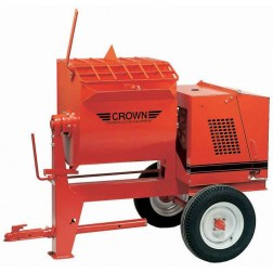 6 cu/ft Mortar Mixer 5.5 HP Honda 6SR-GH5 by Crown Ball Hitch