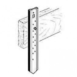 """12"""" FLAT Steel Nail Form Stakes 10-PACK"""