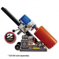 "Diteq Shibuya TS-132ABV 10"" Angle Base Core Drill with Pump -DR0037"