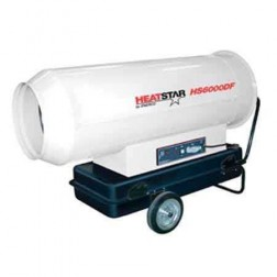 Enerco HeatStar HS6000DF Forced High Pressure Direct-Fired Heater 610,000 BTU