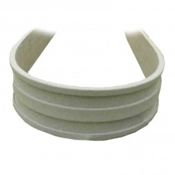 "3.5"" Poly Plastic Flexible Concrete Form FF3550 50ft Roll"