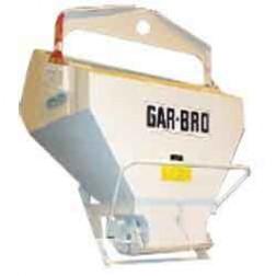 1 Yard Laydown Concrete Bucket 436-L by Garbro