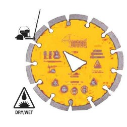Diteq Green Concrete Connection Blade Yellow-GC-36