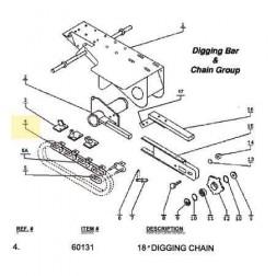 "Ground Hog 18"" Digging Chain 60131"