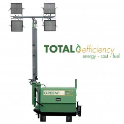 GHS Greenfire H100-2 LED Hybrid Stationary Light Tower