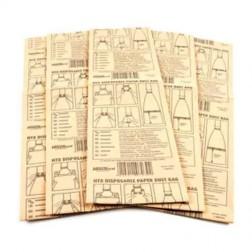 HireTech 07039 Dust Bag Paper HT8/DU8 10 Pack