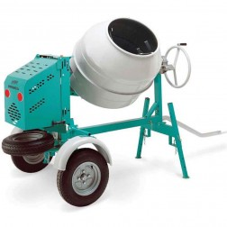 IMER 9 Cu.Ft 1.5HP Workman Electric Concrete Mixer 250 II 1105851