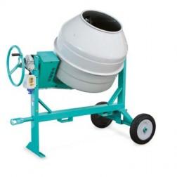 IMER Multi-Mix 350 Portable Electric Concrete Mixer/Steel Drum 1105802