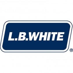 "LB White 30076 Duct, 25 ft (16""), Fire-retardant, with Clamp"