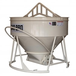 "5 Cu Yard Lightweight Low-profile Bucket 4136-LP W/ 15""X 22"" Gate by Gar-Bro"