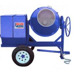 6 cu/ft Electric Poly Concrete Mixer 600CM-PL 1.5HP by Cleform Gilson