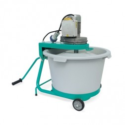IMER Mix-All 60 14Gal 3/4hp 110v Electric Bucket Mixer/ Poly Drum 1193988