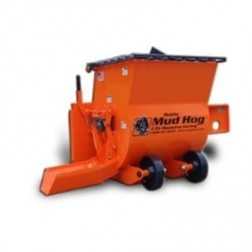 EZG Manufacturing Mobile Mud Hog 9cf w/ Manual Gate (No Backing Plate MMH9
