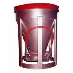 2 Yard Low Slump Aluminum Concrete Bucket BB-20-LS