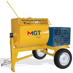 Menegotti 250L 9 cu ft Mortar Mixer with Honda GX 240