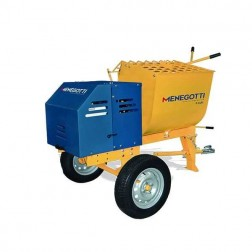 Menegotti 250L 9 cu ft Mortar Mixer without engine
