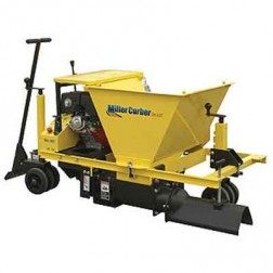"Miller MC850 6"" Solid Auger 20HP Industrial Concrete Curbing Machine"