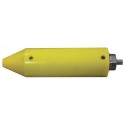 "MultiVibe 2""x8"" Rubber Coated Vibrator Head MV800C"