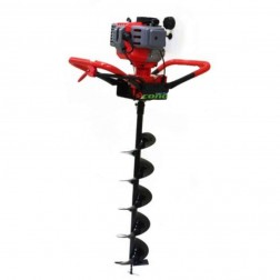 "Two Man Post Hole Digger with 8"" & 10""  Augger Bits 52cc 2 HP -holedigger-52cc-10in-6in-2man"