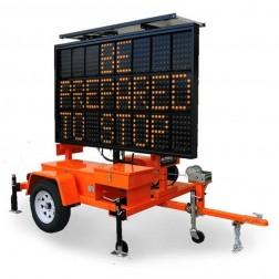 National Signal Sunray 480 170W Solar Powered LED Portable Sign-SR480