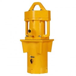 "Rhino PD 200 Heavy Duty Post Driver w/5-1/2""Master Chuck"