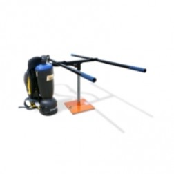 """EZG Manufacturing Paver Placer Backpack Vacuum with 2-Man """"H"""" Handle PM-PBPV-3"""