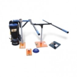"""EZG Manufacturing Paver Placer Backpack Vacuum with """"T"""" Handle & """"H"""" Handle PM-PBPV-4"""