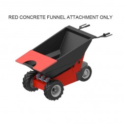 Concrete Funnel for Power Pusher E-750 Electric Wheelbarrow by NuStar