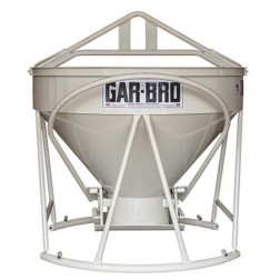 1 Yard Steel Concrete Bucket 427-R by Gar-Bro