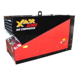 90 CFM Skid Air Compressor SC90D by Con X Equipment
