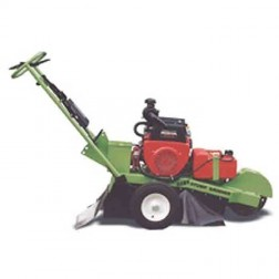 Hawk self-propelled stump grinder with 20 HP Honda electric start engine