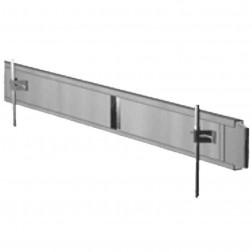 """Dee Concrete 15""""X 10 ft Steel Straight Concrete Form 205-15"""