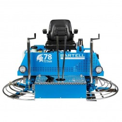 Bartell Titan 78 Gas Concrete Ride-On Trowel