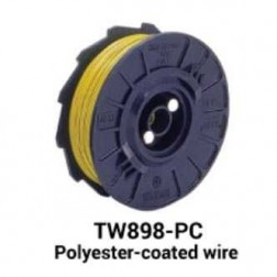 MAX USA TW898-PC Polyester-Coated Wire (50 rolls)