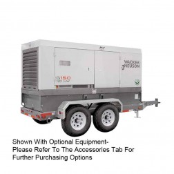 Wacker 120kW Mobile Generator G150 Cold Weather Edition T4F