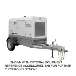Wacker 58kW Mobile Generator G70 T4F