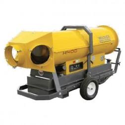 """Wacker HI 400HD Heavy Duty Gas Indirect Heater 3 x 12"""" W/ Accessory Kit"""