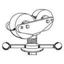 Sumner 781306 Hi Fold-a-Jack with Rubber Wheels