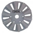 "Diteq FGG-34 8"" Grinding 10 Seg Disc -D91003"