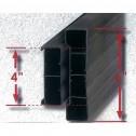 "4"" Poly Plastic Straight Concrete Form 869-450"